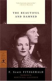 Cover of: The beautiful and damned | F. Scott Fitzgerald