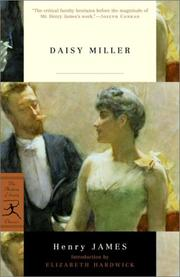 Cover of: Daisy Miller by Henry James, Jr.