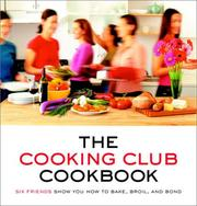 Cover of: The Cooking Club Cookbook | Katherine Fausset