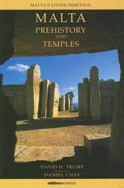 Cover of: Malta, prehistory and temples | David H. Trump