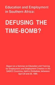 Cover of: Defusing the time-bomb?