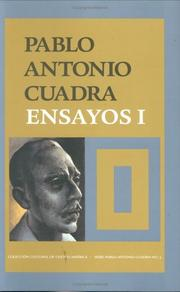 Cover of: Ensayos I