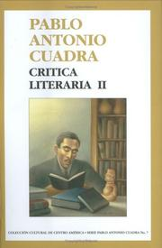 Cover of: Critica Literaria II