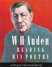 Cover of: W.H.Auden Reading His Poetry