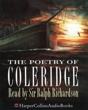 Cover of: The poetry of Coleridge