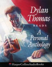 Cover of: A personal anthology