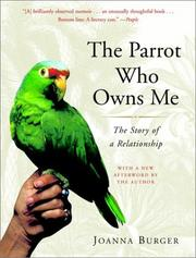 Cover of: The Parrot Who Owns Me | Joanna Burger