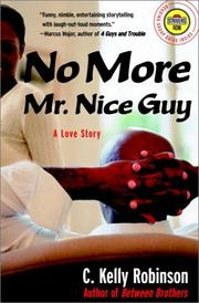 Cover of: No more Mr. nice guy