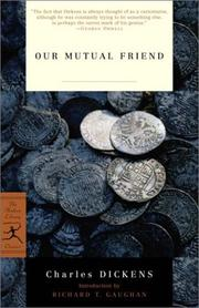 Cover of: Our mutual friend |