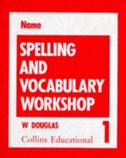 Cover of: Spelling and Vocabulary (Spelling Books)