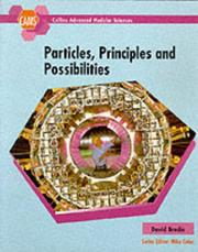 Cover of: Cams Particles, Principles and Possibilites