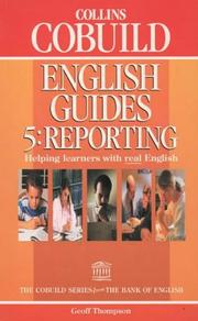 Cover of: Collins COBUILD English Guides