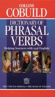 Cover of: Collins COBUILD Dictionary of Phrasal Verbs by John Sinclair