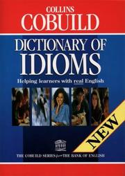 Cover of: Collins Cobuild Dictionary of Idioms by John Sinclair