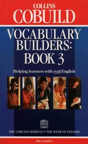 Cover of: Vocabulary Builders | Jim Lawley