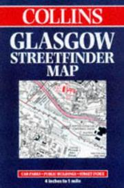 Cover of: Glasgow Street Finder Map (Streetfinders) | Collins
