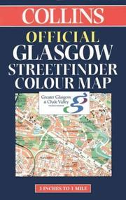 Cover of: Official Glasgow Streetfinder Colour Map (Streetmap) | England) Collins (Firm : London