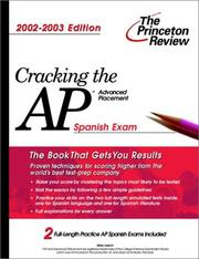 Cover of: Cracking the AP Spanish