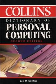 Cover of: Collins Dictionary of Personal Computing