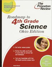 Cover of: Roadmap to 4th Grade Science, Ohio Edition