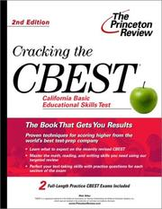 Cover of: Cracking the CBEST