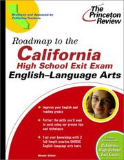 Cover of: Roadmap to the California High School Exit Exam | Princeton Review