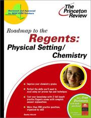 Cover of: Roadmap to the Regents | Princeton Review