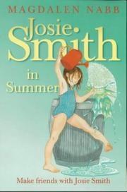 Cover of: Josie Smith in Summer | Magdalen Nabb