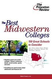Cover of: The Best Midwestern Colleges | Princeton Review