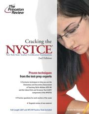 Cover of: Cracking the NYSTCE | Princeton Review