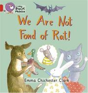 Cover of: We Are Not Fond of Rat