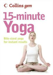 Cover of: Collins Gem 15-Minute Yoga
