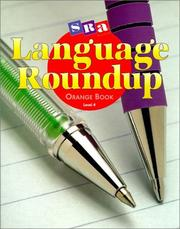 Cover of: Language Roundup Orange Book Level 4 Student Edition |
