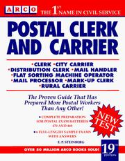 Cover of: Postal Clerk and Carrier