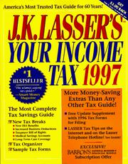 Cover of: J. K. Lasser