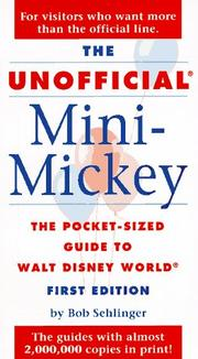 Cover of: The Unofficial Mini-Mickey
