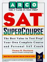 Cover of: Arco Sat Supercourse With Tests on Disk
