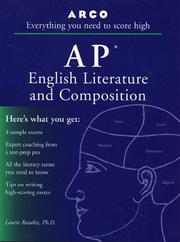 Cover of: Arco Everything You Need to Score High on Ap English Literature and Composition