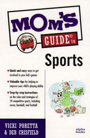 Cover of: Mom's Guide to Sports (Mom's Guides)