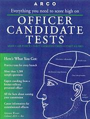 Cover of: Officer Candidate Tests | Solomon Wiener