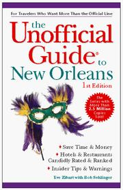Cover of: The Unofficial Guide to New Orleans | Eve Zibart