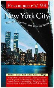 Cover of: Frommer's 99 New York City