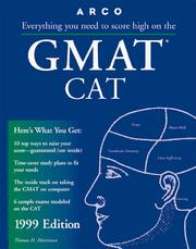 Cover of: Everything You Need to Score High on the Gmat Cat 1999 (Master the Gmat)