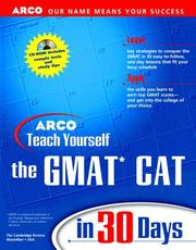 Cover of: Arco Teach Yourself Gmat Cat in 30 Days