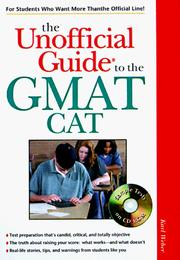 Cover of: The Unofficial Guide to the Gmat Cat | Karl Weber