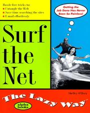 Cover of: Surf the Net the Lazy Way