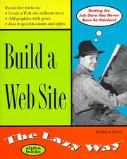 Cover of: Building A Web Site