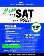 Cover of: Arco Master the Sat and Psat | Phil Pine
