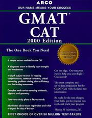 Cover of: Arco Everything You Need to Score High on the Gmat Cat 2000