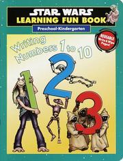 Cover of: Writing Numbers 1 to 10